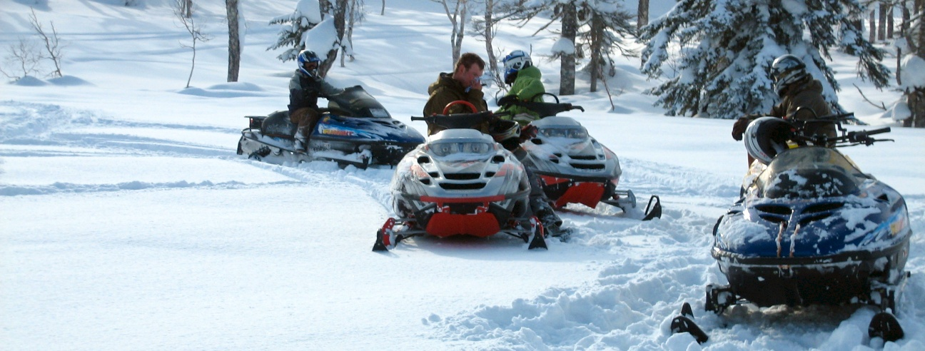 Backcountry Sled Tour